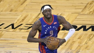 Jerami Grant Pistons Magic Basketball