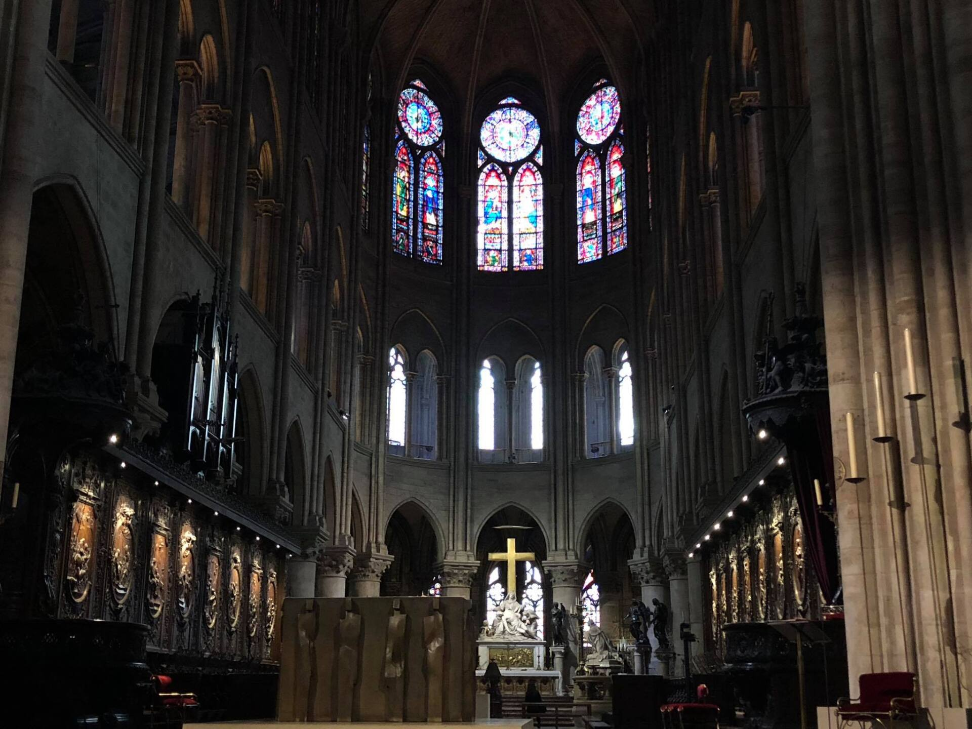 Photos Show Beautiful Interior Of Iconic Notre Dame Cathedral