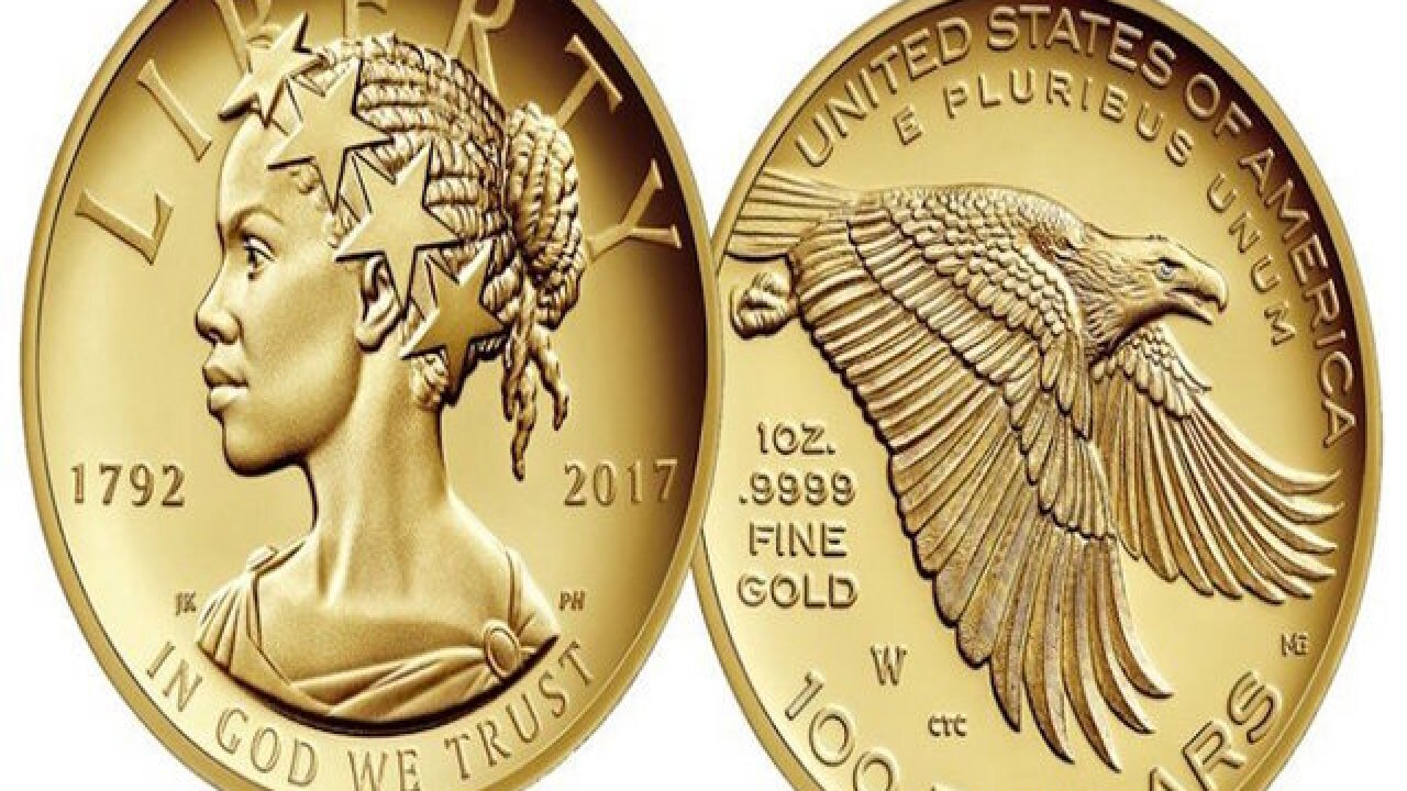 For the first time ever, there will be a black Lady Liberty on a coin