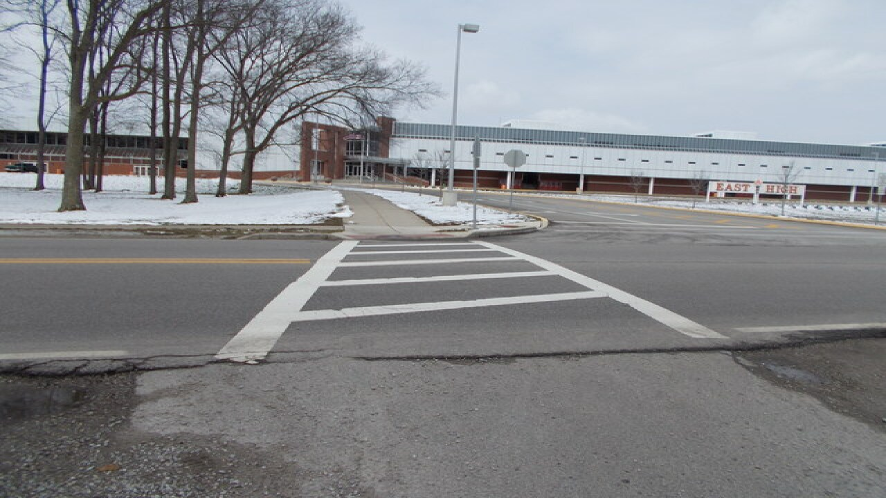 City improves crosswalk following 2 incidents