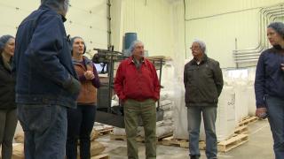 Cascade County Farmer's Union members tour hemp facility in Fort Benton
