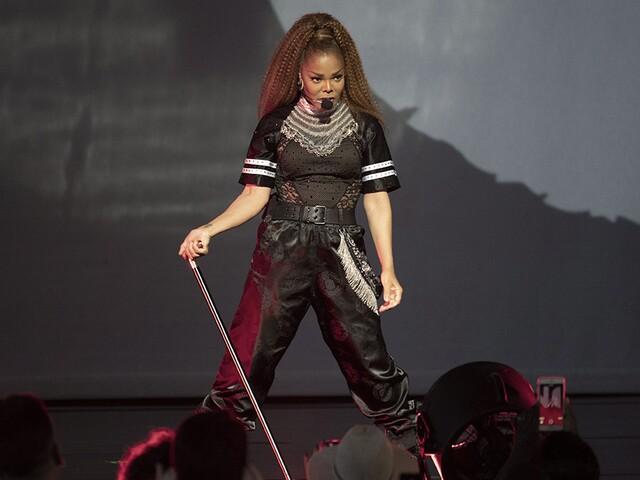 Janet Jackson performs at Riverbend