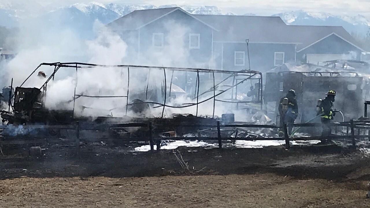 Kalispell Fire May 11-2