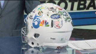 Friday Football Fever - Helmet Stickers (Week 10)
