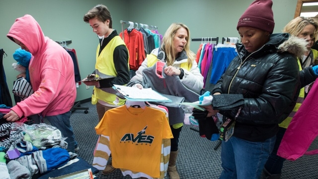 Families in Blue Ash need help, too