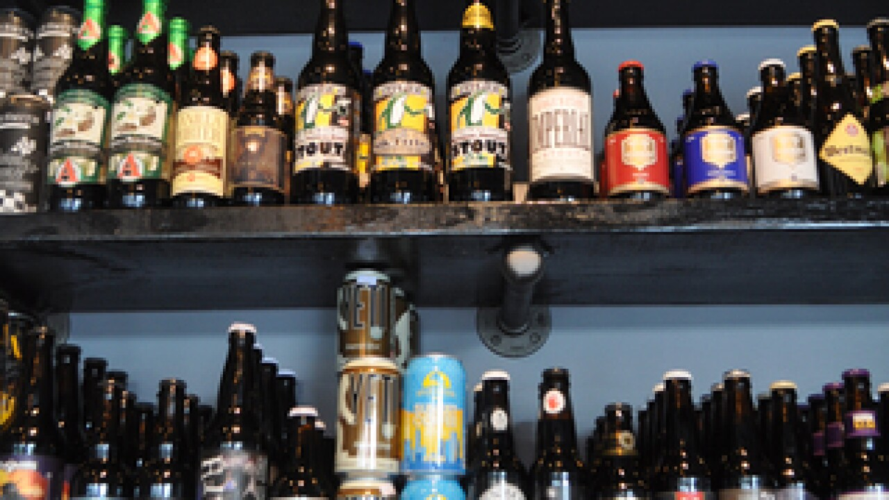 500 bottles of beer on the wall -- plus wine