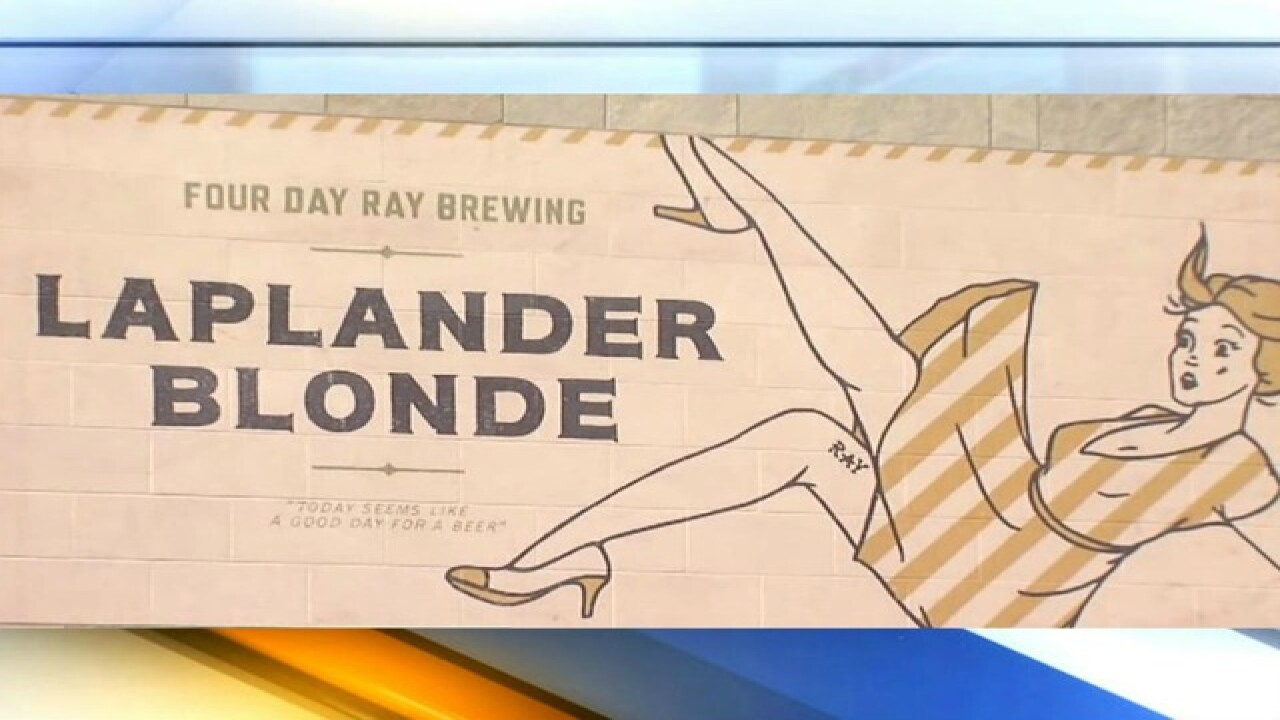 Beer sign in Indiana creating controversy