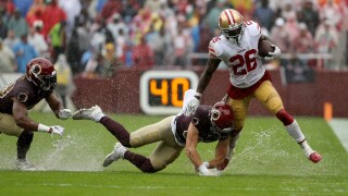 Redskins can't make splash vs. undefeated 49ers, lose eighth straight homegame