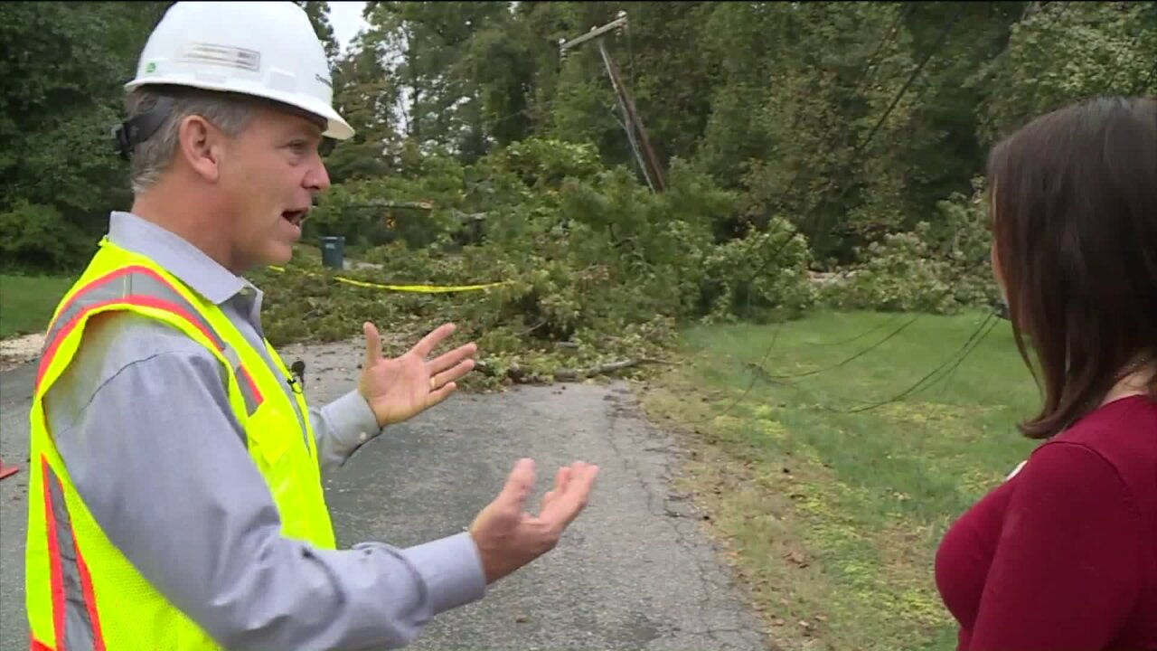 Dominion Energy close to restoring power to all Richmond-area neighborhoods
