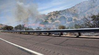 SR87 Brush Fire