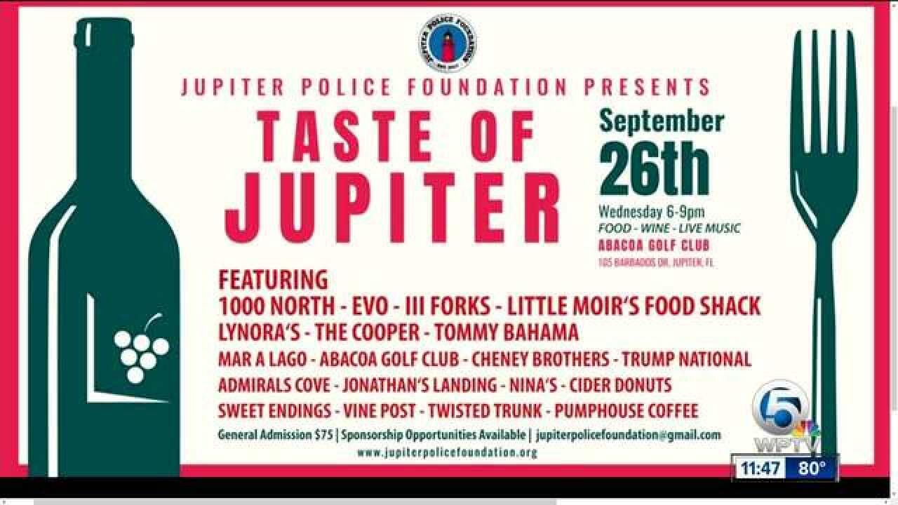 Taste of Jupiter on Sept. 26