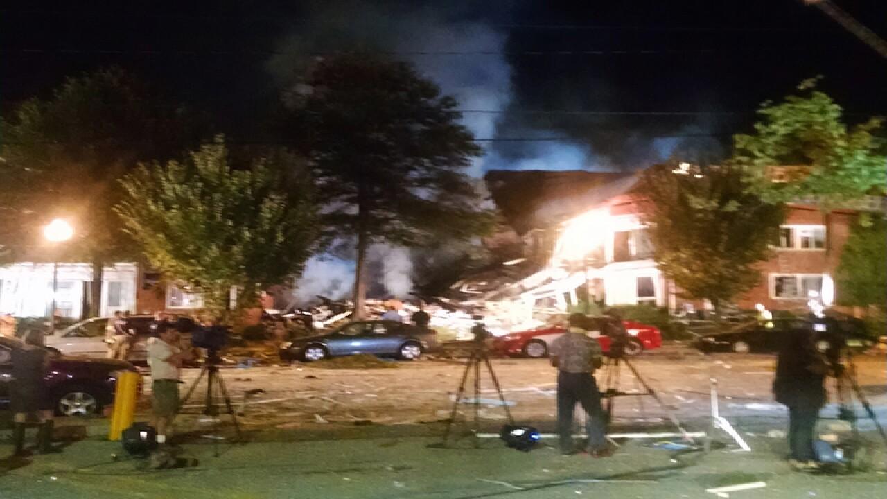 Dozens hurt in Maryland apartment fire