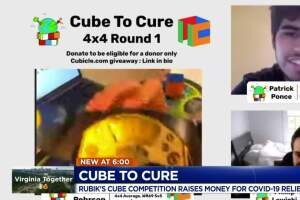 Students create Cube to Cure competition for COVID-19 relief