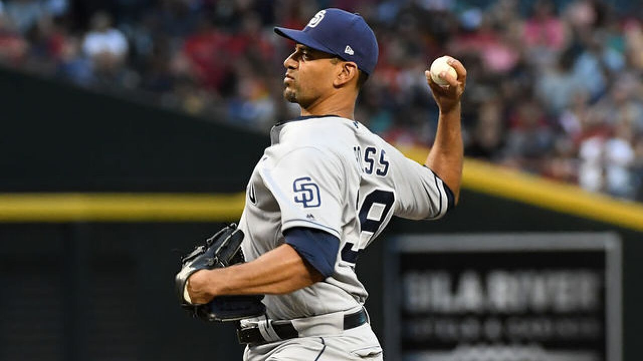 Ross loses no-hit bid with 2 outs in 8th, Padres top D-backs