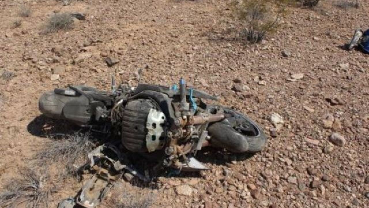 Motorcyclist killed in Overton crash