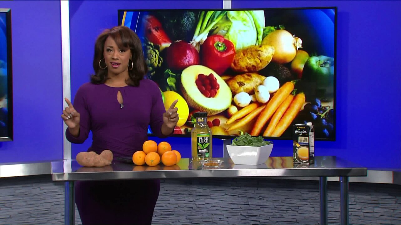 Foods to help boost your immunesystem