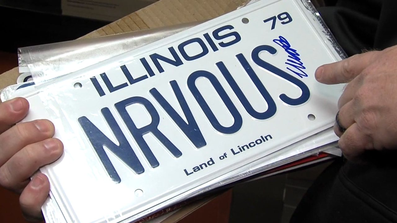 Man turns love for iconic movies into license plate art