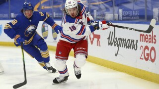 Rangers Sabres Panarin Olofsson