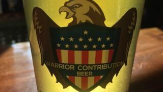 warrior contribution beer nickel beer company julian brewery