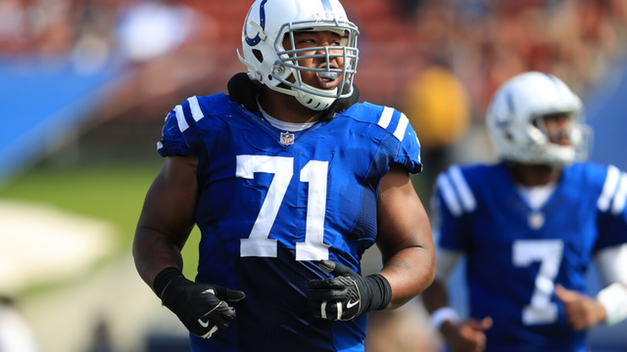 Good's injury may complicate Colts' right tackle competition