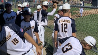 Portage Central baseball wins district title