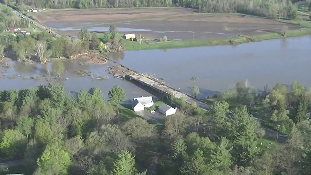 PHOTOS: Catastrophic flooding in Mid-Michigan after Edenville Dam failure