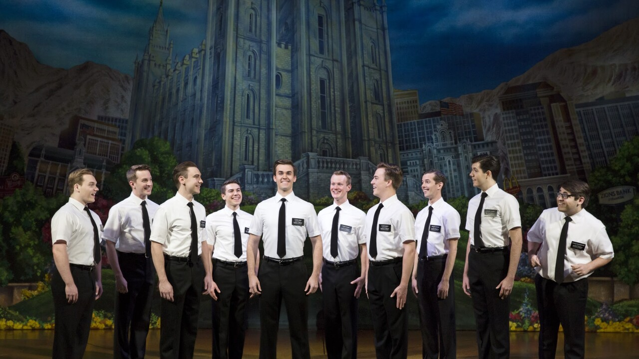 The Book of Mormon Company - The Book of Mormon (c) Julieta Cervantes 2017