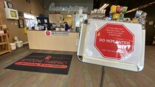 Kestone Pharmacy during Coronavirus scare