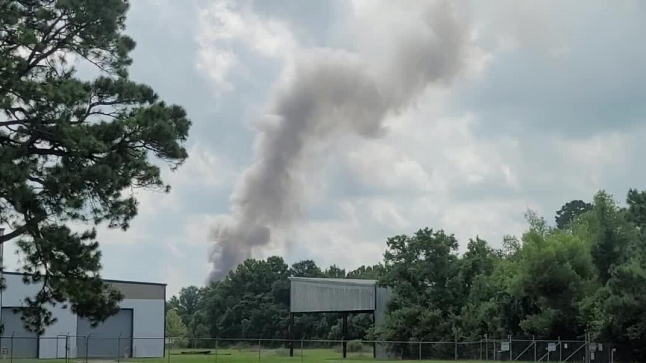 Fire on Hopkins Street New Iberia