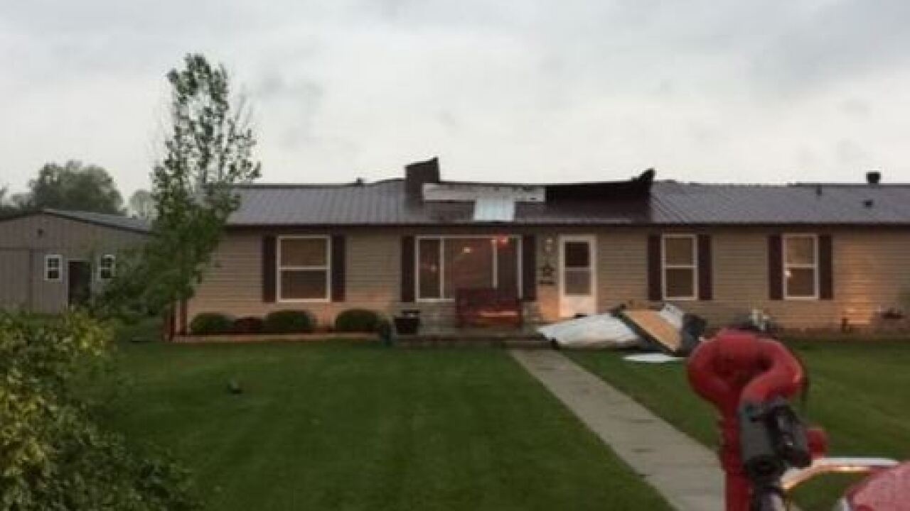 PHOTOS: Storm damage across central Indiana