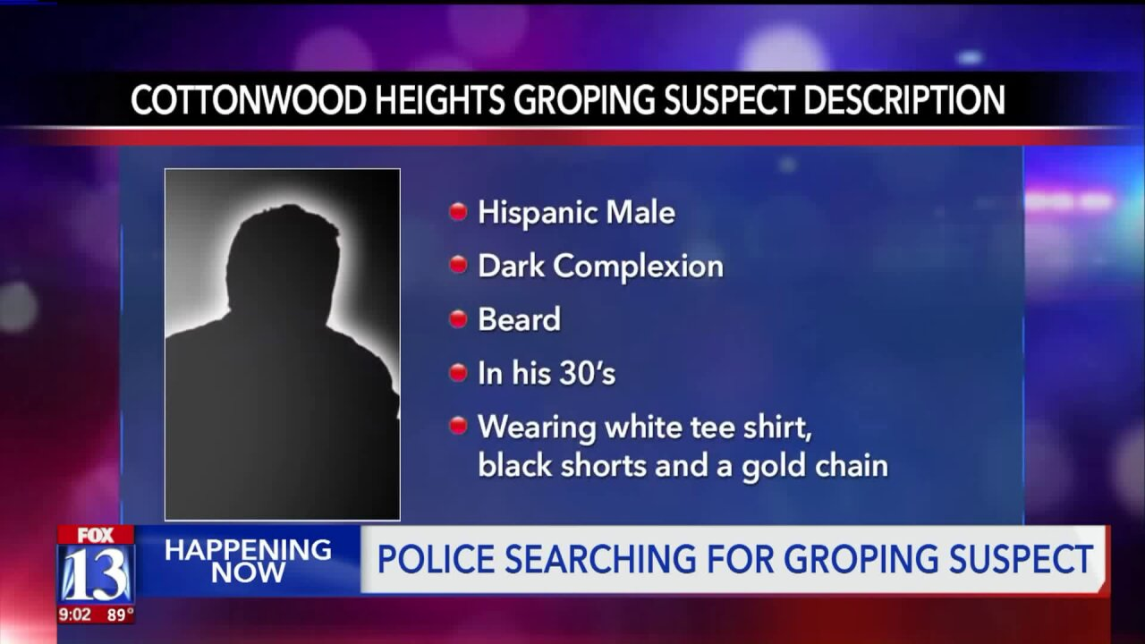 Police searching for man accused of groping two girls at Cottonwood Heights pool