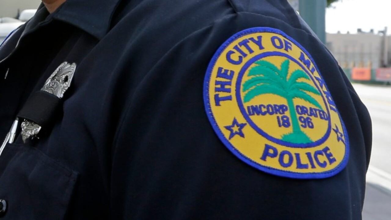 Miami police officer's wife dies after getting locked in patrol vehicle