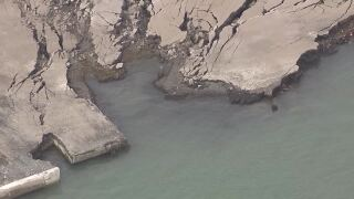 Site with possible radioactive contamination collapses into Detroit River