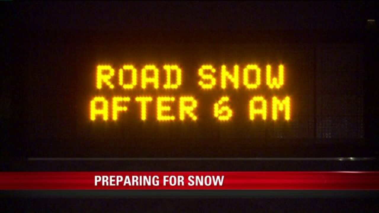 UDOT says 2-day storm will create winter conditions on roads in much ofUtah