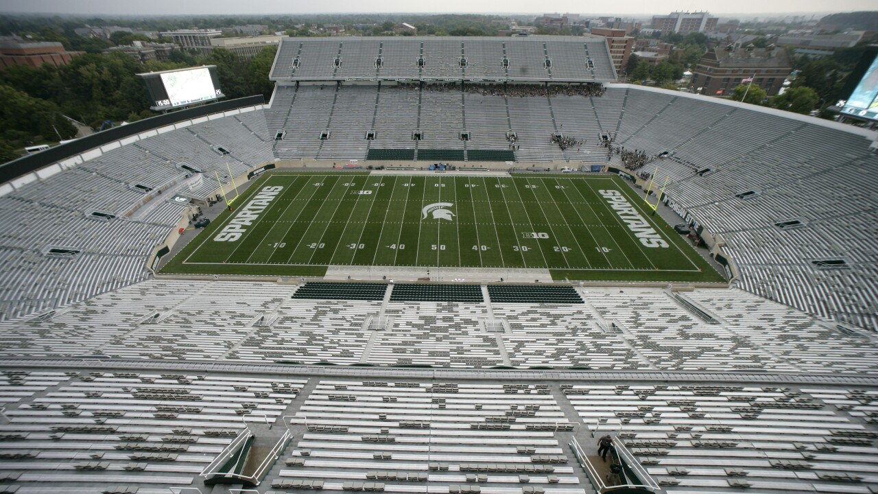 South Florida Michigan St Football