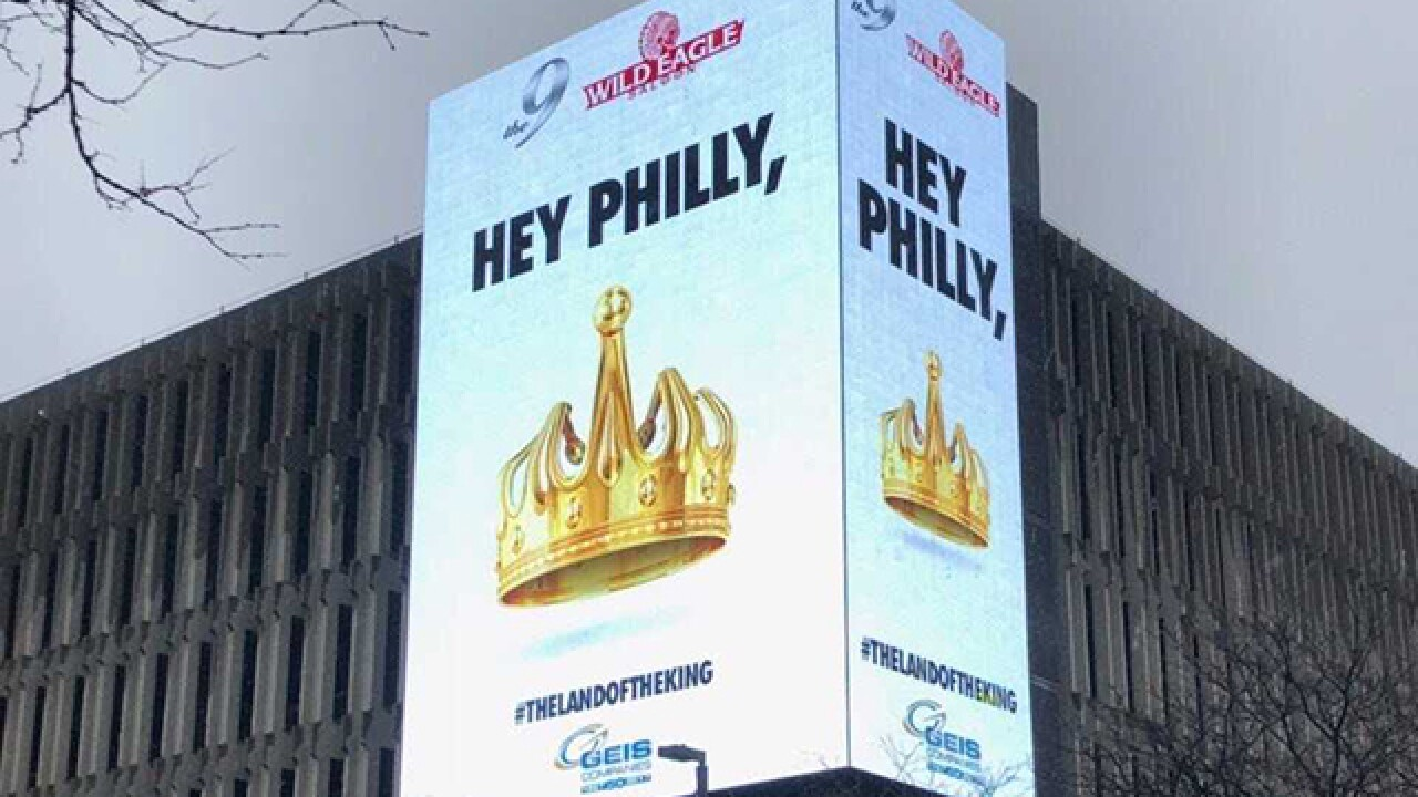 Cleveland advertising firm responds to Philadelphia's ludicrous LeBron billboards