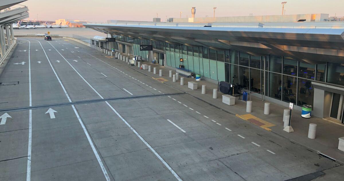 Plane landing at Cleveland Hopkins pulls 'go-around' maneuver to avoid vehicle on runway
