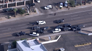 Glendale officer-involved shooting 43rd and McDowell Road