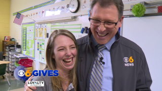 Rob Cardwell rewards teacher who cultivates kindness in herstudents