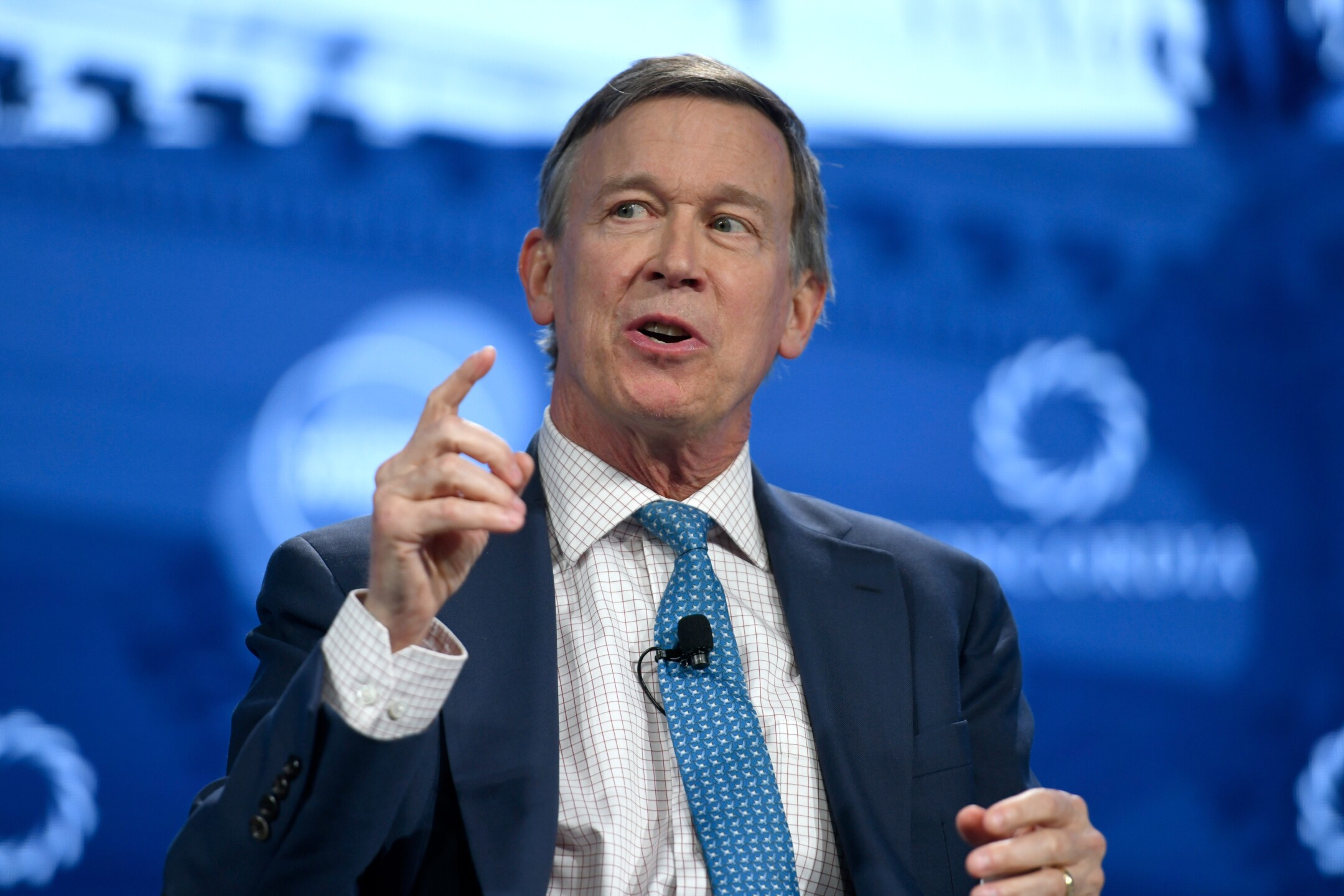 John Hickenlooper is a two-time governor of Colorado. He announced his candidacy for President of the United States on March 4, 2019.