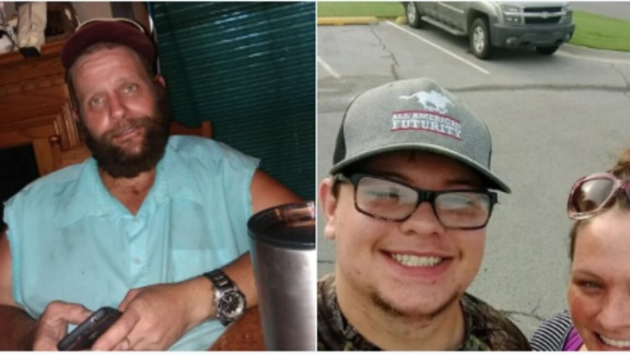 Men missing in Pawnee County since July are safe