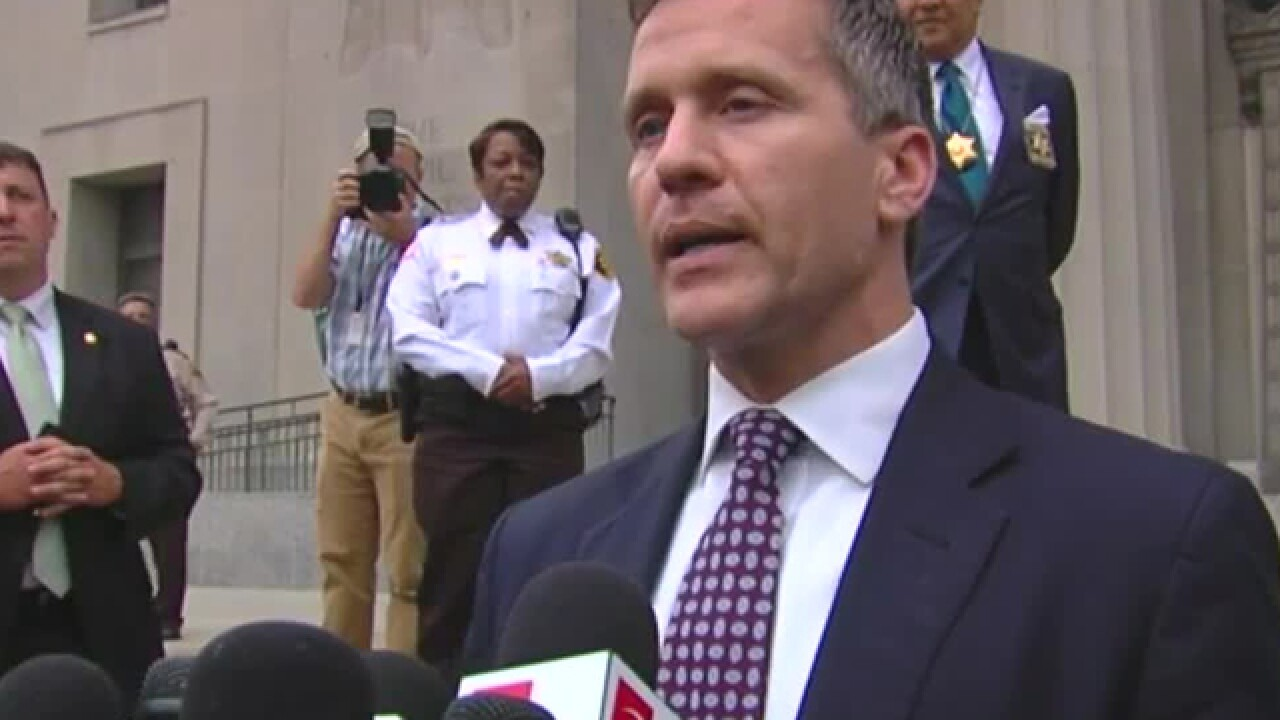 Missouri judge sides with ex-Gov. Eric Greitens in lawsuit over message-deleting app