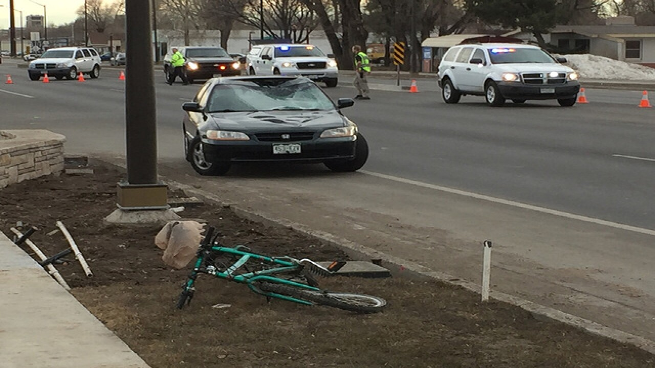 53-year-old Ft. Collins cyclist injured in crash