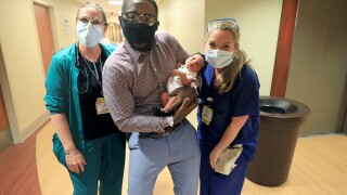 Riverside Regional Medical Center welcomes 2020th baby born at hospital in 2020