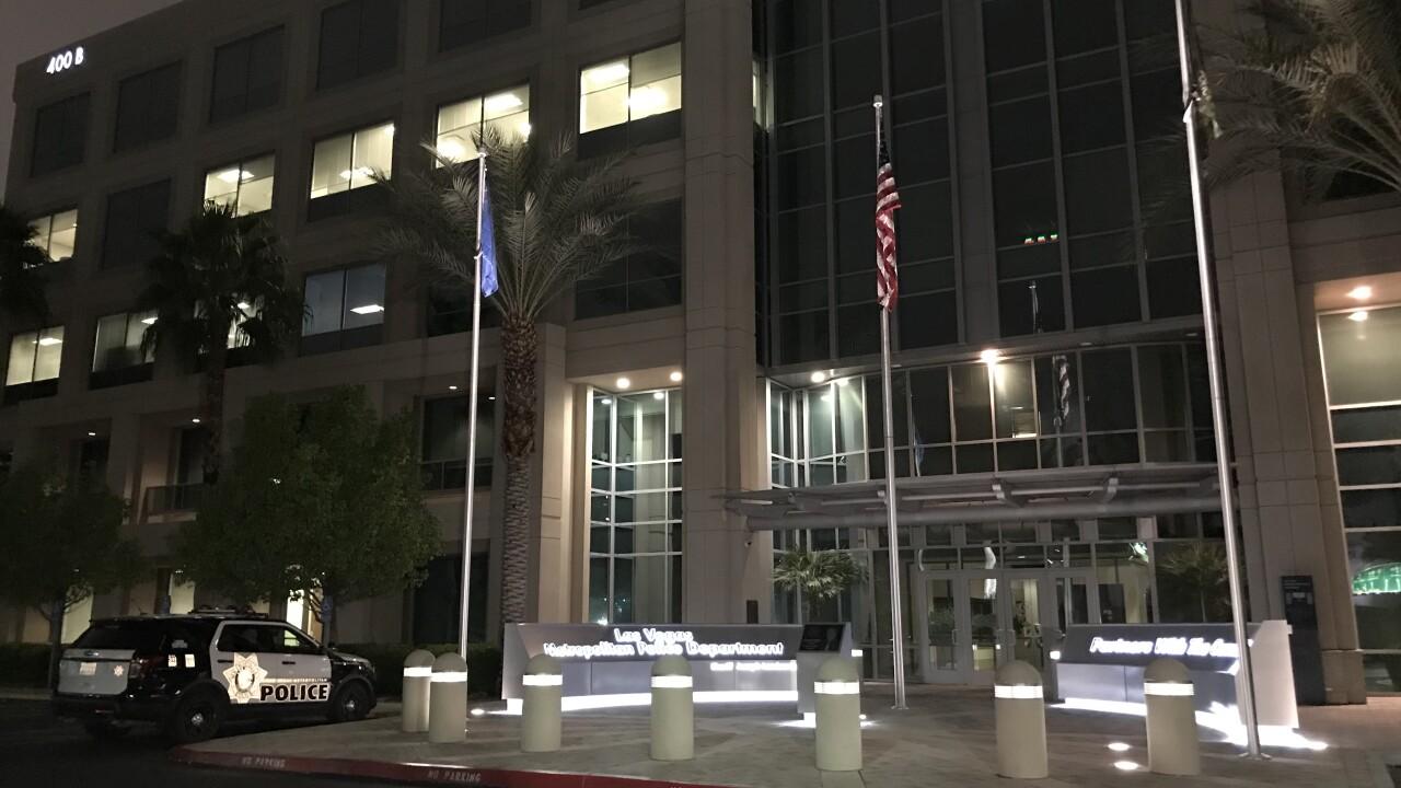 Las Vegas Metropolitan Police Department Headquarters in Las Vegas