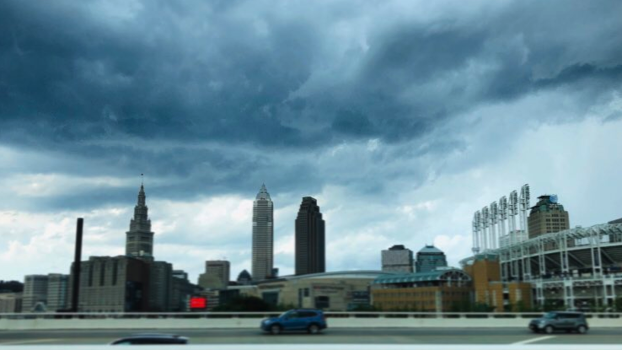 Cleveland storms