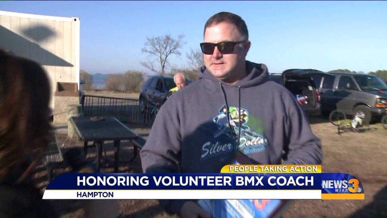 Virginia Beach dad turns love of cycling into a communityactivity