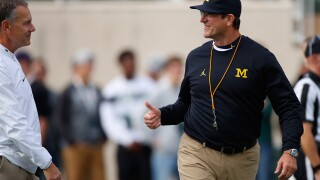 "Jim Harbaugh ready for MSU, despite Spartans struggles: ""We will be lulled into nothing"""