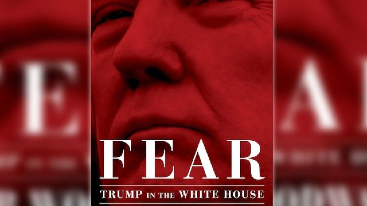 New book on Trump's White House could raise concern over national security