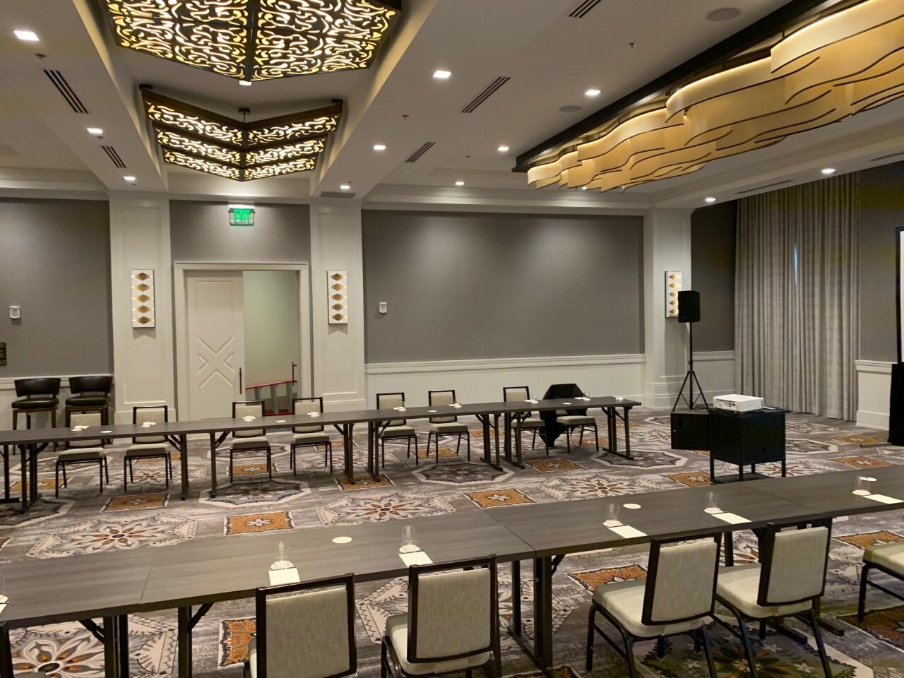 Harpeth Hotel ballroom